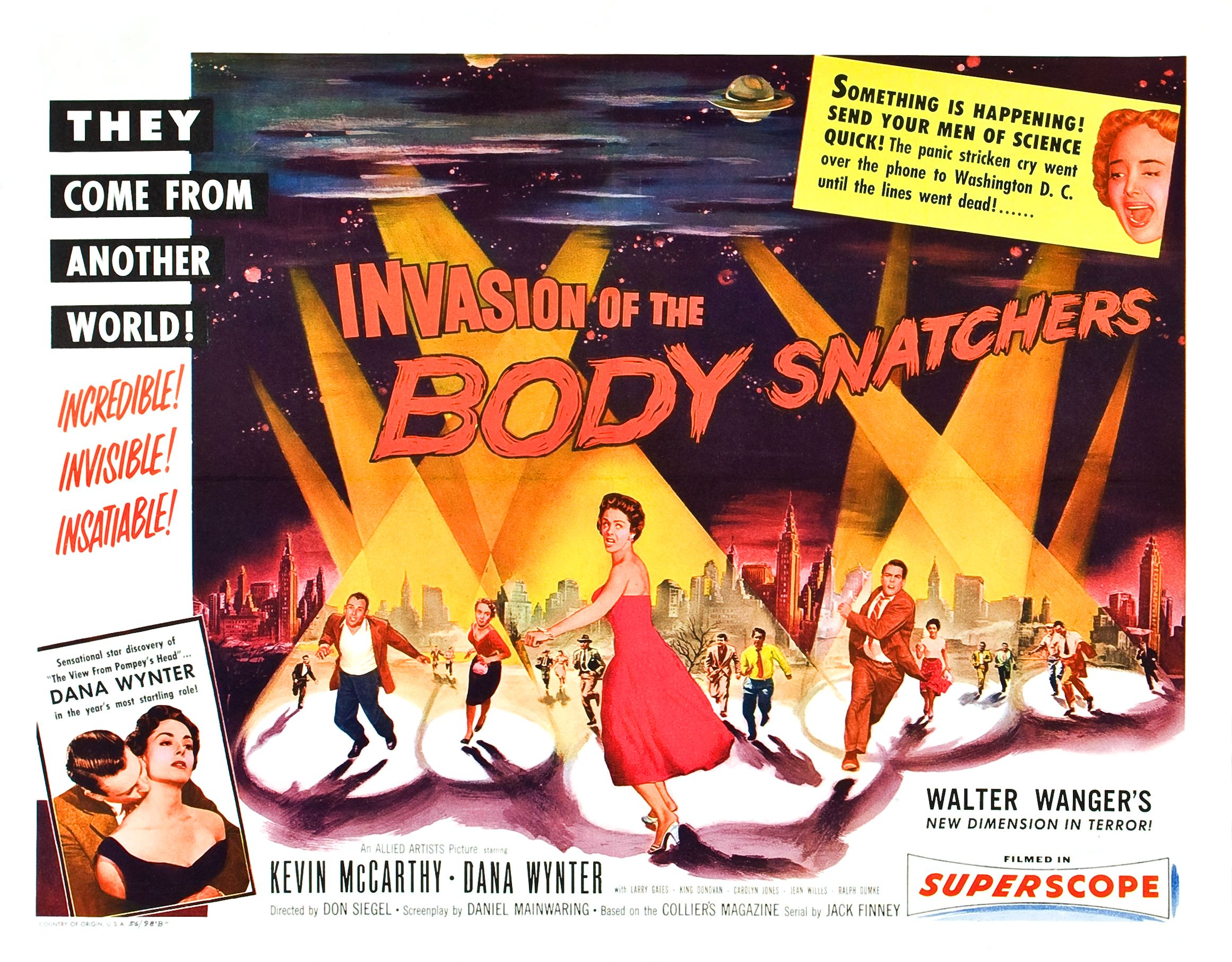the body snatchers essay News & interviews for invasion of the body snatchers  [video essay]  thematically, the film's allegory regarding viral-groupthink has plenty of wiggle- room for.
