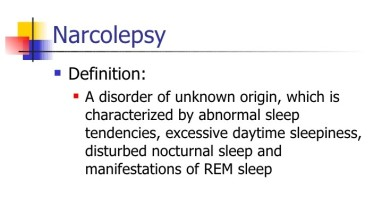 narcolepsy narrow
