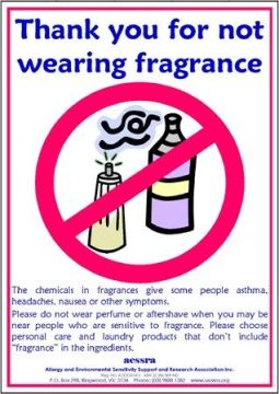 fragrance sign